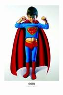 Superboy  Fine Art Print