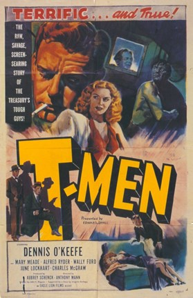Framed T-Men Print