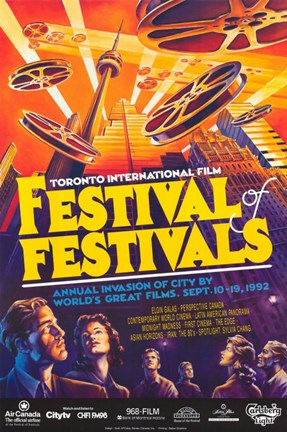 Framed Toronto International Film Festival 1992 Print