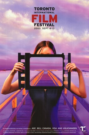 Framed Toronto International Film Festival 2003 Print