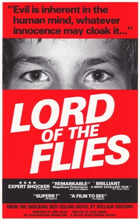 Framed Lord of the Flies Print