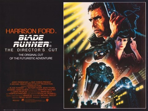 Framed Blade Runner - The Director's Cut Print