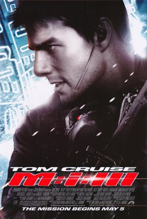 Framed Mission: Impossible III - side profile Print