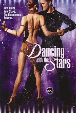 Framed Dancing with the Stars New Rules Print