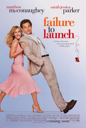 Framed Failure to Launch Print