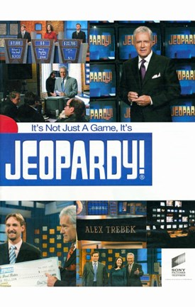 Framed Jeopardy (TV) Print