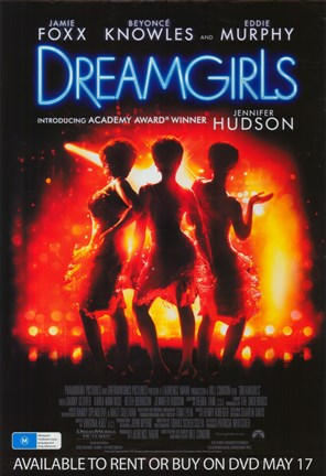 Framed Dreamgirls Print