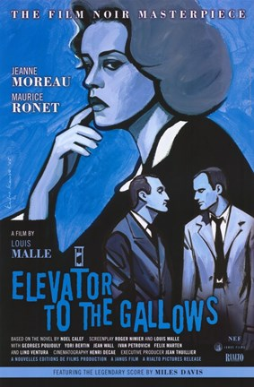 Framed Elevator to the Gallows Print