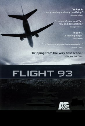 Framed Flight 93 Print