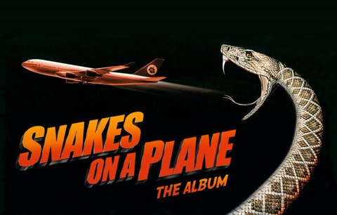 Framed Snakes on a Plane The Album Print