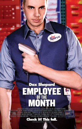 Framed Employee of the Month - Dax Shepard Print