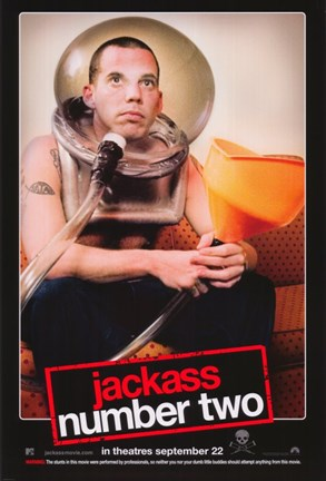 Framed Jackass: Number Two - bubble Print