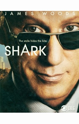 Framed Shark (TV) James Woods Print