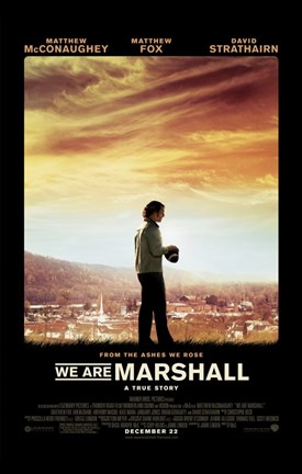 Framed We Are Marshall Print