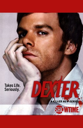 Framed Dexter Take Life. Seriously. Print