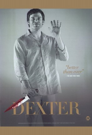 Framed Dexter - Better than ever Print