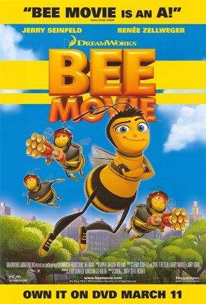 Bee Movie Dvd Fine Art Print By Unknown At Fulcrumgallery Com