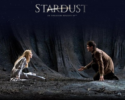 Framed Stardust Claire Danes & Charlie Cox Print