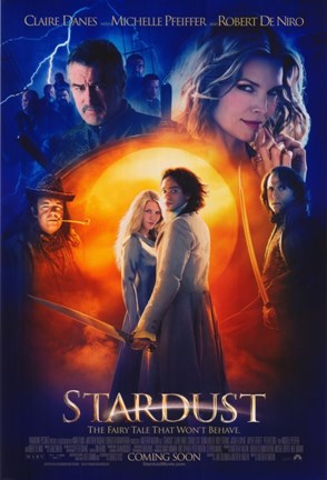 Framed Stardust Robert DeNiro Michelle Pfeiffer Print