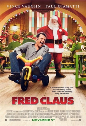 Framed Fred Claus Print