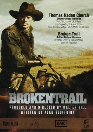 Framed Broken Trail Print
