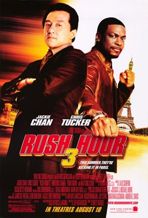Framed Rush Hour 3 Print