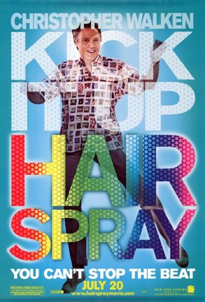 Framed Hairspray - Christopher Walken Print