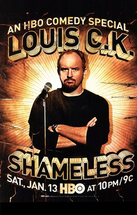 Framed Louis C.K.: Shameless Print