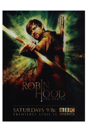 Framed Robin Hood (TV) Print