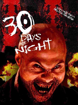 Framed 30 Days of Night Horror Laugh Print