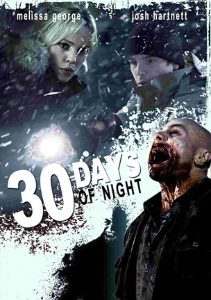Framed 30 Days of Night Melissa George Josh Hartnett Print