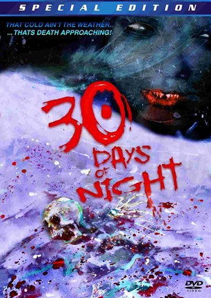 Framed 30 Days of Night DVD Print