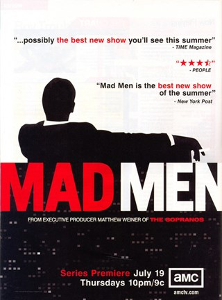 Framed Mad Men (TV) Critics Rave Print