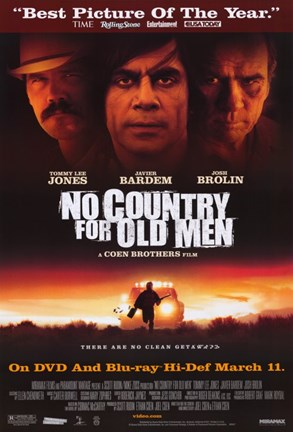 Framed No Country For Old Men Jones Bardem Brolin Print