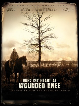 Framed Bury My Heart at Wounded Knee Print