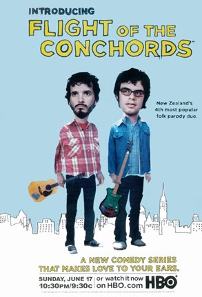 Framed Flight of the Conchords TV Series Print