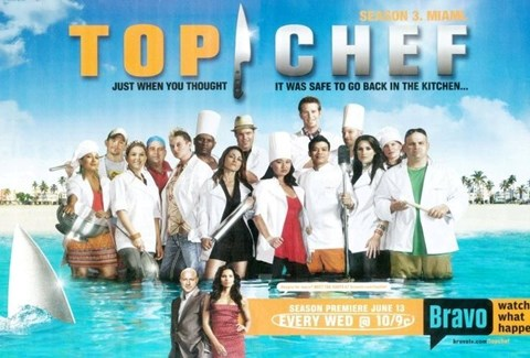 Framed Top Chef cast poster Print