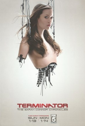 Framed Terminator: The Sarah Connor Chronicles - style B Print