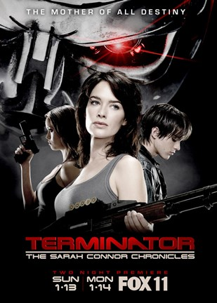 Framed Terminator: The Sarah Connor Chronicles - style G Print