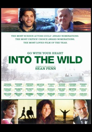 Framed Into The Wild Movie Print