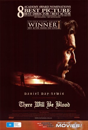 Framed There Will Be Blood 8 Academy Awards Print