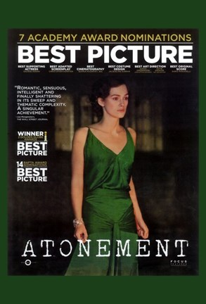 Framed Atonement Best Picture Print