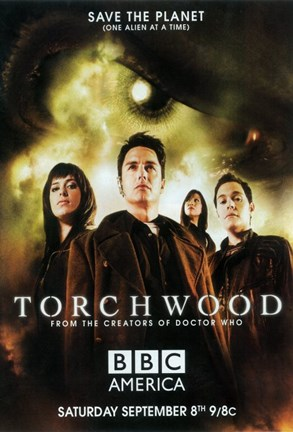 Framed Torchwood Print