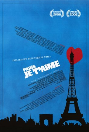 Framed Paris Je T'aime Print