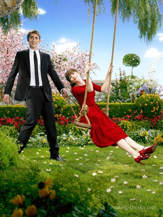 Framed Pushing Daisies Ned Swinging Charolette Print