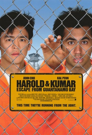 Framed Harold and Kumar: Escape from Guantanamo Bay Print