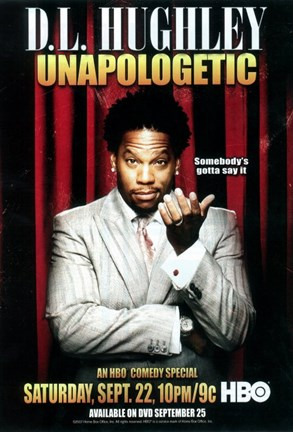Framed D.L. Hughley: Unapologetic Print