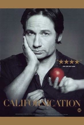 Framed Californication David Duchovny Print