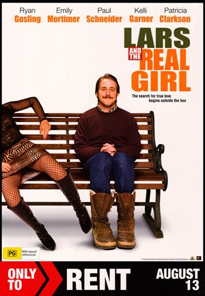Framed Lars and the Real Girl Print