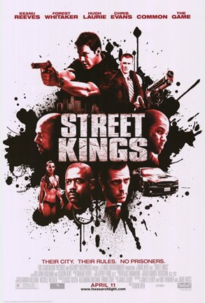 Framed Street Kings Print